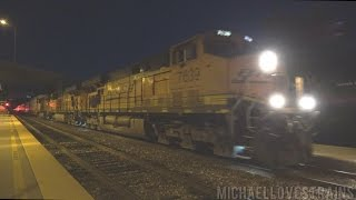 4K - BNSF 7639 with Unique Custom Leslie RS3P Horn in San Diego - 4/22/17