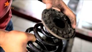 Самостоятельный ремонт амортизаторов Daewoo Lanos.