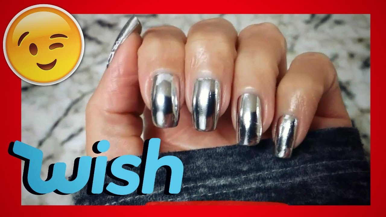 Wish Haul Liquid Mirror Chrome Nail Polish || LaShenny21Nails - YouTube
