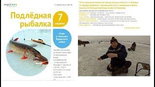 Подлёдная рыбалка на озере Кюльхири. Первенство компании ''Август'' п. Вурнары. 2018 год.