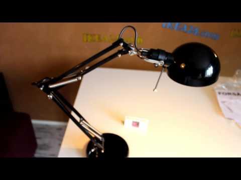 икеа лампа форсо, настольная лампа икеа