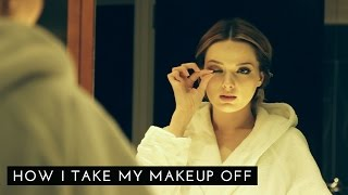 How I Take My Makeup Off // Get UNready with me // MyPaleSkin