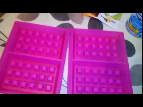 Венские вафли на силиконовых формочках из Фикс Прайса