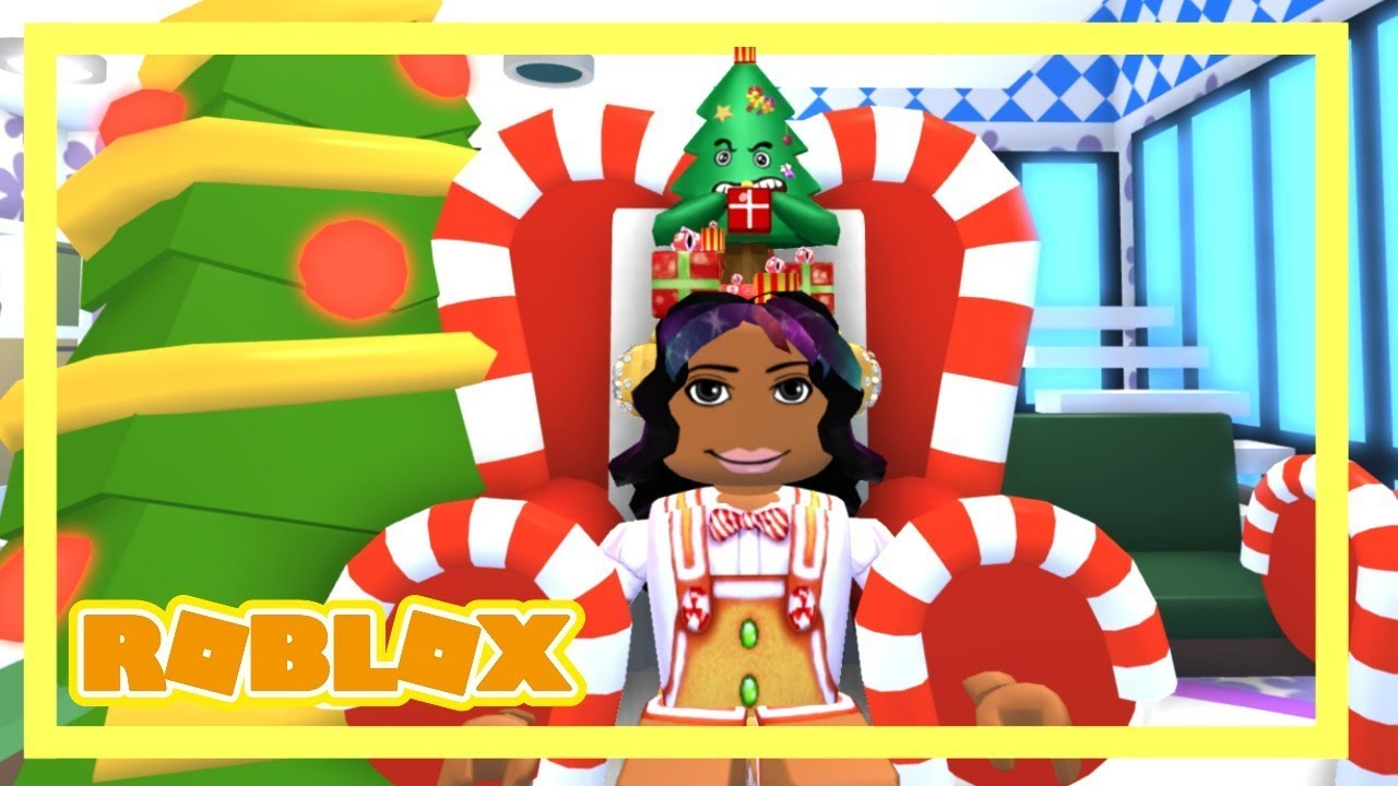 Christmas Is Here In Adopt Me Free Gifts New Trees Andnew Furniture Youtube
