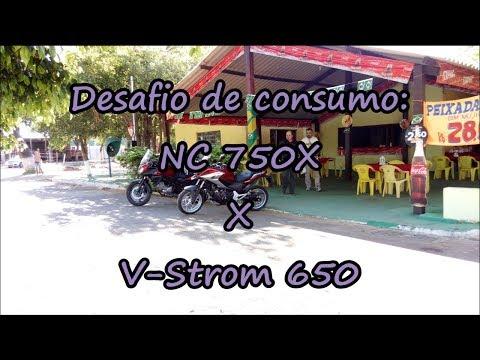 Desafio de consumo: V-Strom x NC 750X
