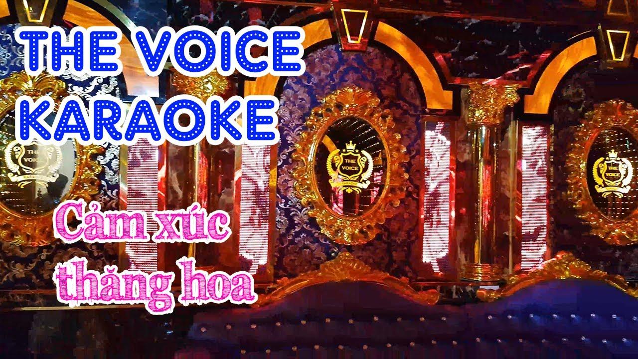 Phòng Karaoke  công nghệ mới : THE VOICE  – 30A Đặng Văn Bi, phường Bình Thọ, quận Thủ Đức.