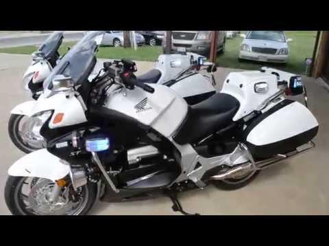 Honda St1300 Police Motorcycle Honda St1300 Motorcycle