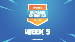 Fortnite Summer Skirmish Series Week 5 Day 1