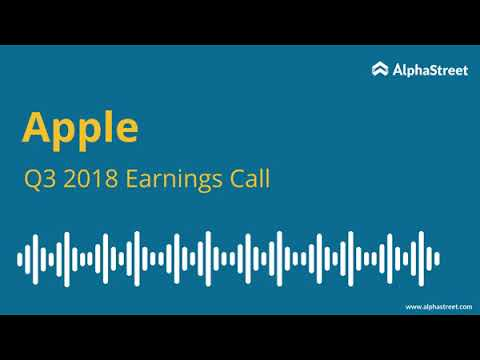 Apple, Inc. (AAPL) CEO Tim Cook on Q2 2019 Results - Earnings Call Transcript