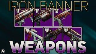 Forsaken Iron Banner Weapons (Weapon Rolls TO GET NEXT WEEK) | Destiny 2 Forsaken