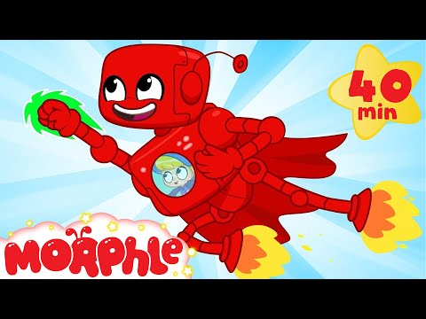 Robot Morphle Saves The Day - My Magic Pet Morphle | Cartoons For Kids | Morphle TV | BRAND NEW