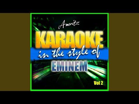 Not Afraid (In The Style Of Eminem) (Karaoke Version)