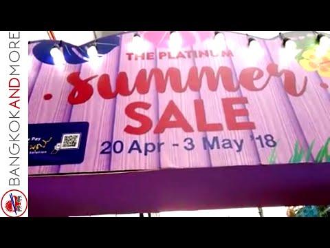 The Platinum Summer Sale @ The Platinum Fashion Mall Bangkok