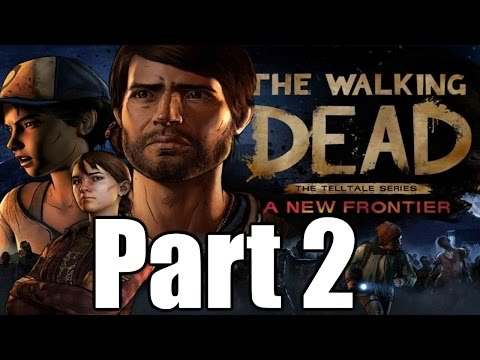 The Walking Dead A New Frontier Gameplay Playthrough #2 - Ties that Bind (Part Two) (PC)