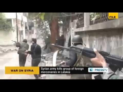 syriawar-Syrian Army kills Group of 70 FSA Takfiri Militants in Latakia, Syria
