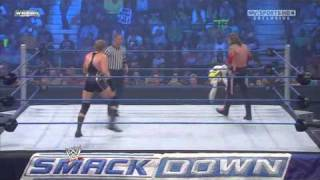 WWE Smackdown 10-8-10: Edge Returns To Fight Jack Swagger HD
