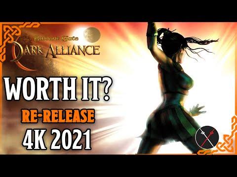 Baldur's Gate Dark Alliance Review - 4K Re-Release (Xbox, PS5, Nintendo, PC, Mobile) Gameplay
