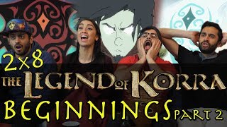 the legend of korra   2x8 beginnings part 2   group reaction
