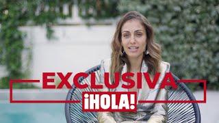 Hiba Abouk, en ¡HOLA!: 'Está siendo la época más bonita de mi vida'