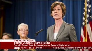 Trump To Acting Attorney General Sally Yates, You