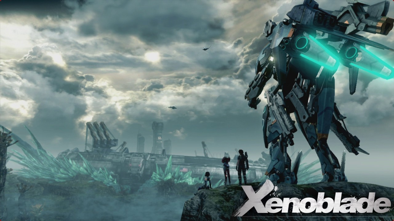 Title Screen Xenoblade Chronicles X Dreamscene Hd Wallpaper Animated