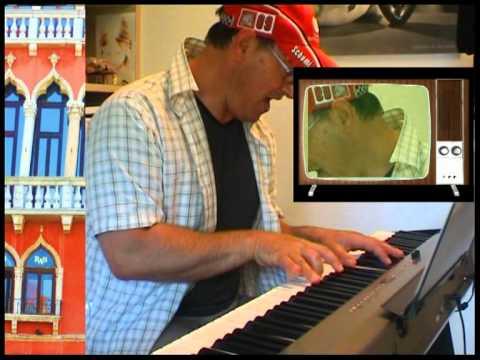 A TESTA IN GIÙ Pino Daniele Cover ALDO PIANCONE just for fun at home