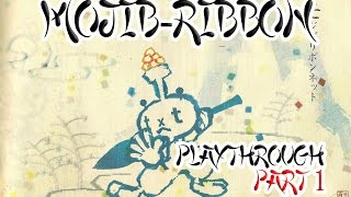 Mojib-Ribbon - Playthrough Part 1 (PS2)(Import)
