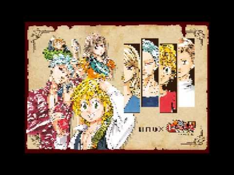 Nanatsu no Taizai 七つの大罪 Opening 1 - Ikimonogakari - Netsujou no Spectrum (8bit)