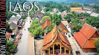 Travel Laos like never before!! Stunning Drone video of Laos  Pt2 - LuangPrabang to Muang Sing