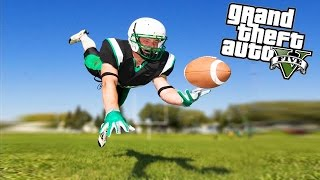 Playing Football In GTA 5?!?! (GTA 5 Funny Moments)