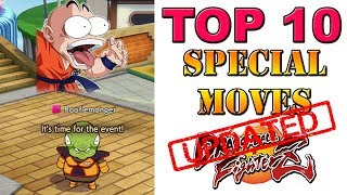 Dragon Ball FighterZ - The new Top 10 special moves list