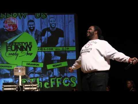 Darren Brand - WSSU Homecoming Comedy Show 2013