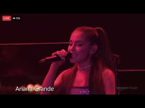 Ariana Grande - Tlic, Dangerous Woman, No Tears Left To Cry (Live At Amazon Prime Event NYC)