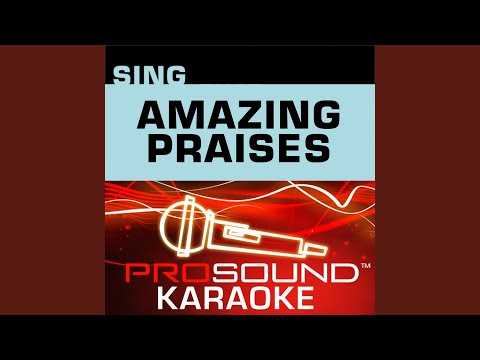So Amazing (Karaoke Lead Vocal Demo) (In the Style of Clark Anderson)