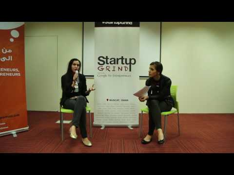 Startup Grind Muscat hosts Thea Myhrvold  (TeachMeNow.com)