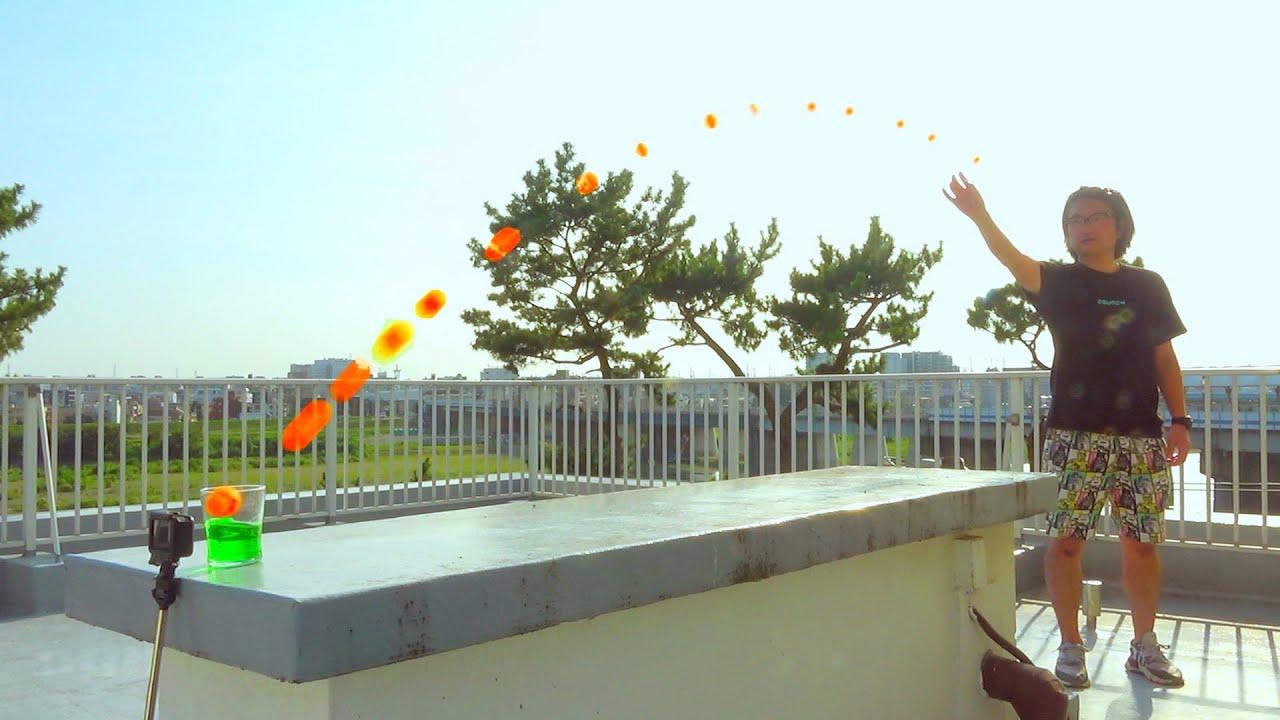 【夏のばかっこいい日常】CGの人を見破れ! Ping Pong Trick Shots 4