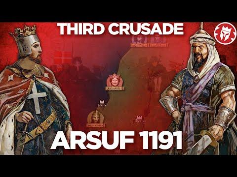 Arsuf 1191 - Third Crusade DOCUMENTARY