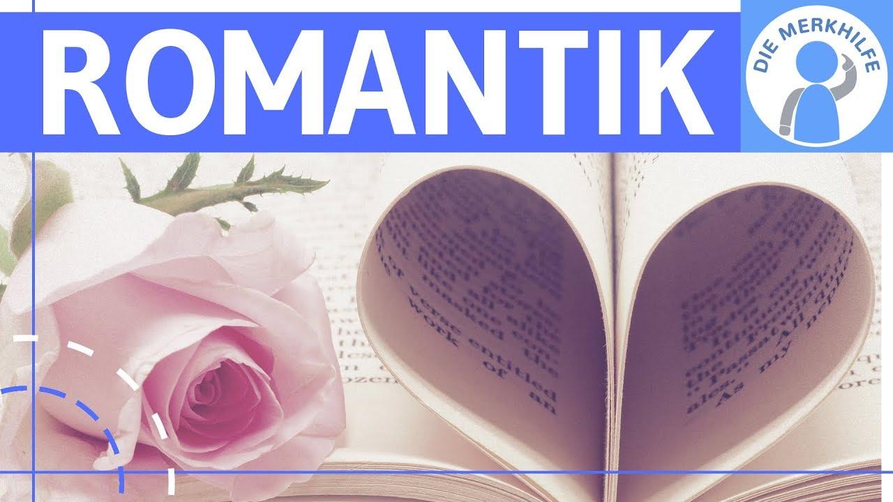 Romantik Literaturepoche Einfach Erklärt Merkmale Literatur Geschichte Vertreter Einteilung
