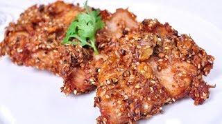 Thai Food - Fried Pork (moo Tod)