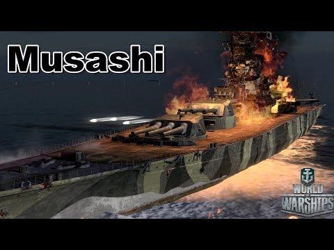 World of Warships: Musashi, Everyone Likes Big Guns