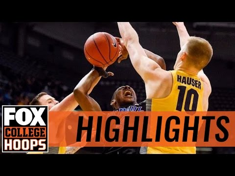 Marquette Golden Eagles defeat DePaul in Milwaukee | 2017 COLLEGE  BASKETBALL HIGHLIGHTS