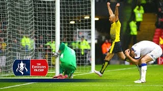 Watford 1-0 Leeds - Emirates FA Cup 2015/16 (R5) | Goals & Highlights(Watford 1-0 Leeds - Emirates FA Cup 2015/16 Fifth Round. Highlights from the Fifth Round of the 2015/16 Emirates FA Cup match between Watford and Leeds., 2016-02-21T12:00:00.000Z)