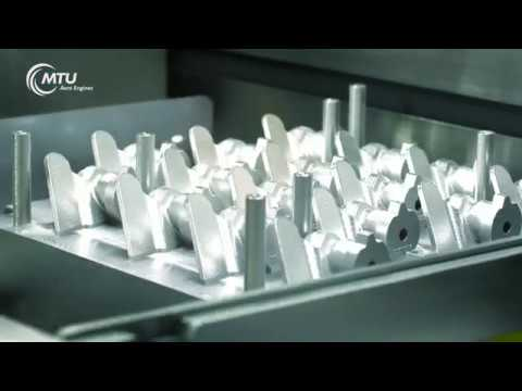 3D printing in engine construction - Additive manufacturing at MTU