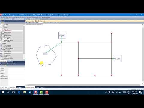 PTV VISUM Tutorial - Lesson 1 - Network Objects