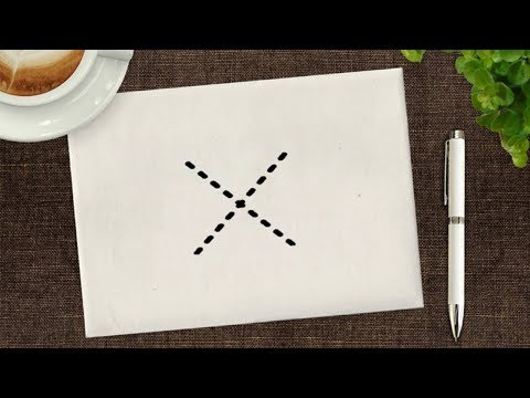 DC - How do you draw a X?