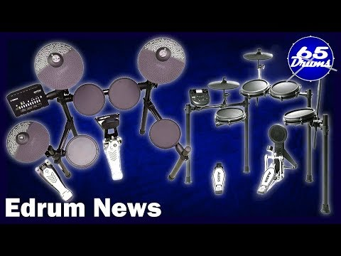 Edrum News: The 4 New Yamaha And Alesis Drumsets