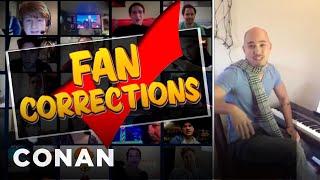 Fan Correction: You Held John Legend