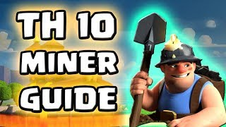 Clash of Clans Tunnelgräber Guide | Miner beste Angriffsstrategie für Rh 10? |Clash of Clans deutsch