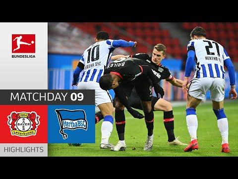 Bayer 04 Leverkusen - Hertha Berlin | 0-0 | Highlights | Matchday 9 – Bundesliga 2020/21