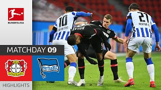 Bayer 04 Leverkusen - Hertha Berlin | 0-0 | Highlights | Matchday 9 – Bundesliga 2020/21